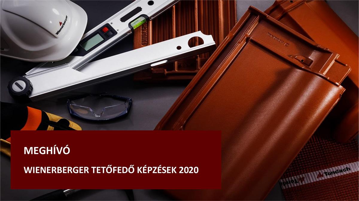 Wienerberger tetőfedő képzések 2020